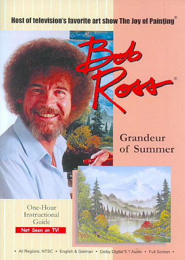 BOB ROSS:GRANDEUR OF SUMMER BY ROSS,BOB (DVD)